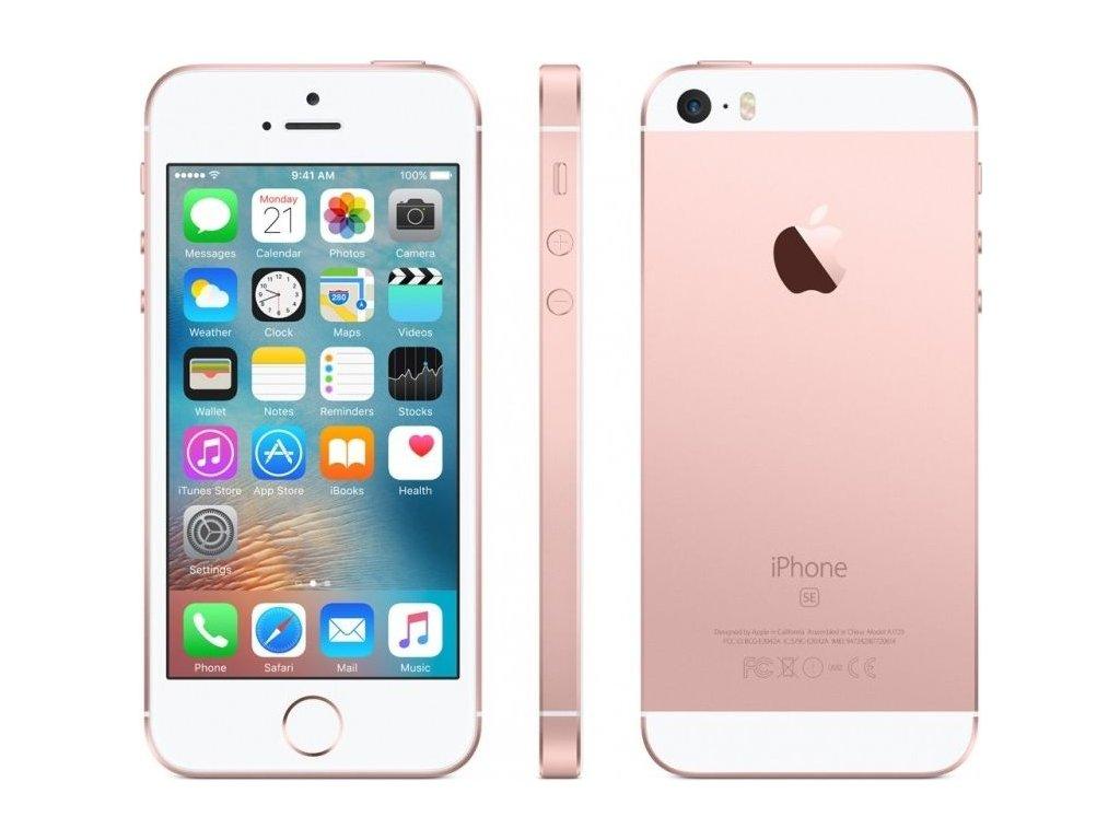 Apple iPhone SE 16GB, růžová/zlatá