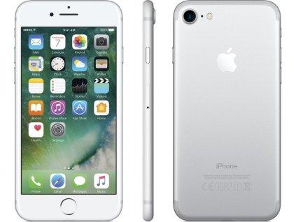 Apple iPhone 7 32GB, stříbrná,  sklo zdarma