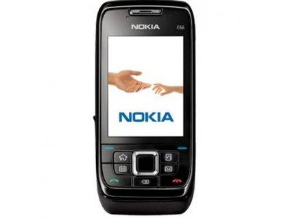 Nokia E66, černá