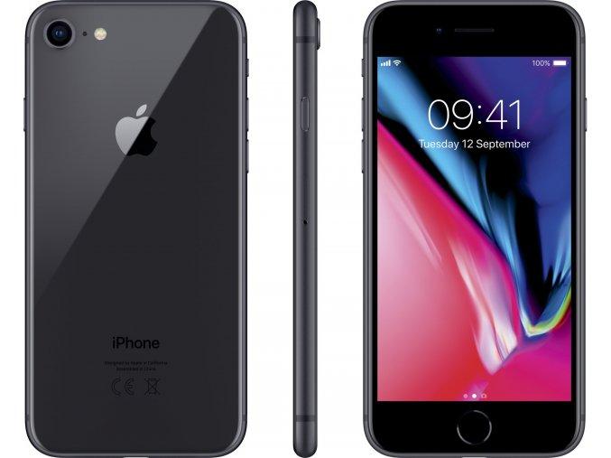 Apple iPhone 8, 64GB, šedá  CZ VERZE, TOP CENA