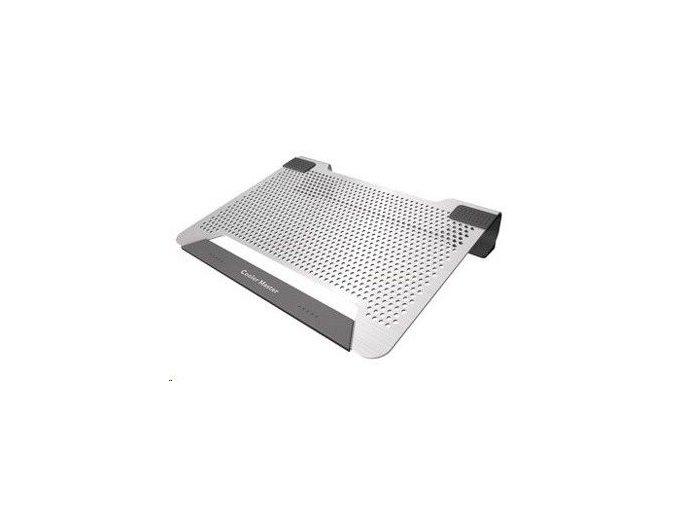 CoolerMaster NotePal U2 Plus, stříbrná