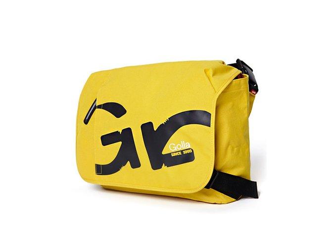 Golla messenger bag 16, žlutá