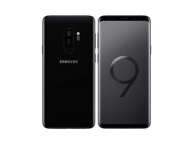 samsung galaxy s9 plus g965f 64gb dual sim black 2
