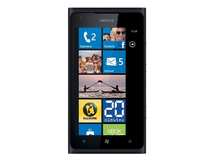 Nokia Lumia 900, černá