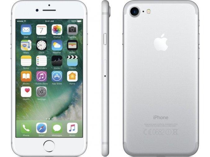 Apple iPhone 7, stříbrná, 256GB