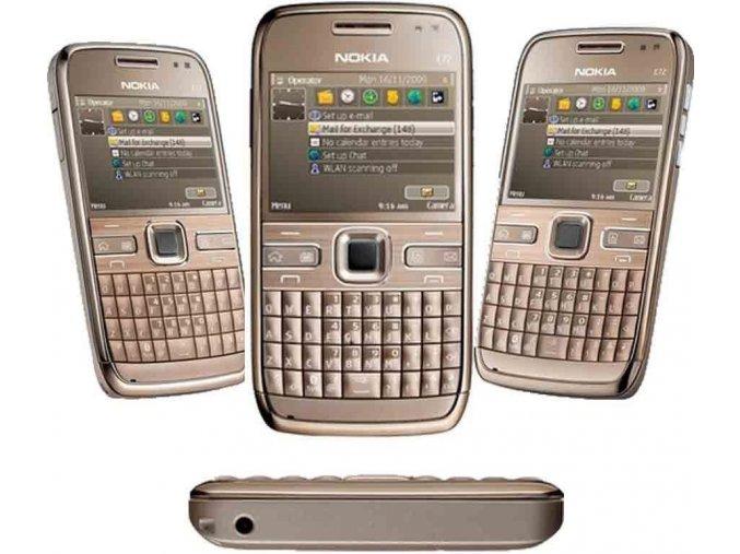 Nokia E72 Gold