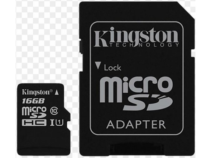 Kingston Micro SDHC Canvas Select 16GB 80MB/s UHS-I