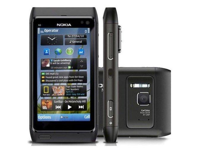 Nokia N8, černá (Dark Grey)