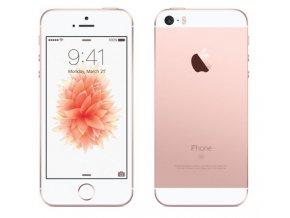 Apple iPhone SE 128GB, zlatá/růžová
