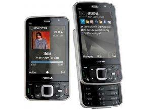 Nokia N96, stříbrná