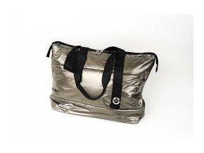 Dámská kabelka pro notebook do 14.1 - zlatá